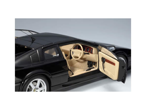 2004 Lotus Esprit diecast model car 1:18 scale V8 by AUTOart - Black 75312