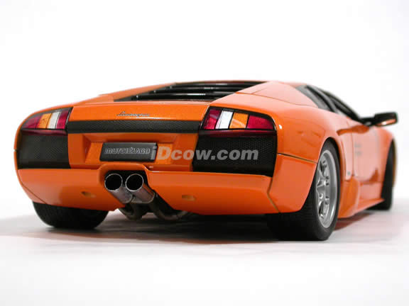 2002 Lamborghini Murcielago diecast model car 1:18 scale by AUTOart - Metallic Orange 74512