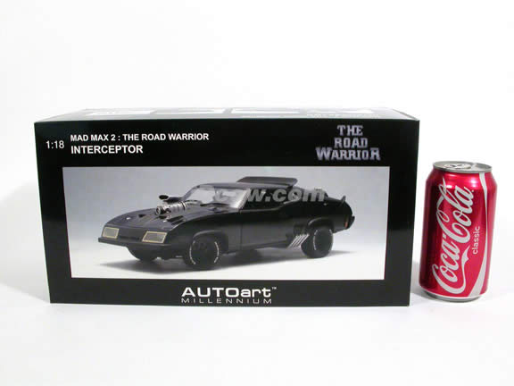 Mad Max 2 The Road Warrior Interceptor diecast model car 1:18 scale by AUTOart - 72745
