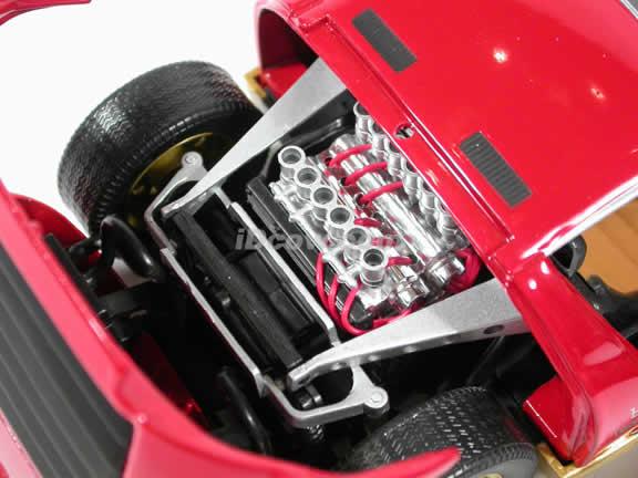 1967 Lamborghini Miura diecast model car 1:18 die cast by Anson - Red