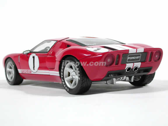2004 Ford GT Concept diecast model car 1:18 die cast by Beanstalk Group - Red