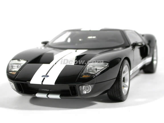 2004 Ford GT Concept diecast model car 1:18 die cast by Beanstalk Group - Black