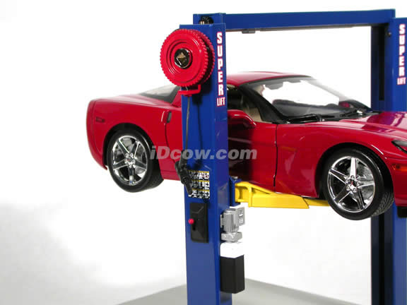 2 Post Super Lift diecast model 1:18 scale from GMP