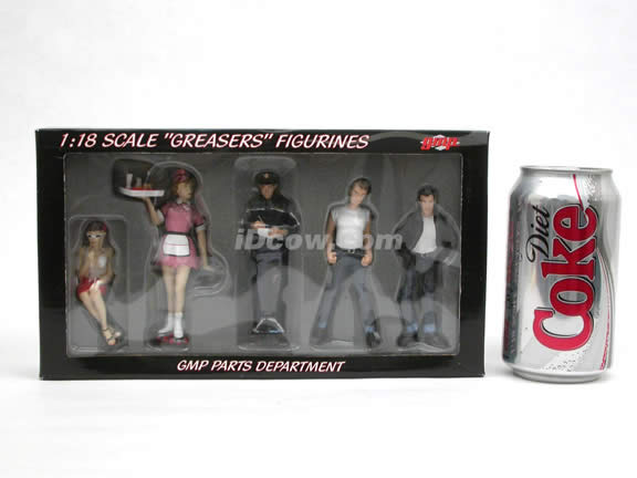 GMP Greasers Figurines for 1:18 scale diecast car models - G1800132