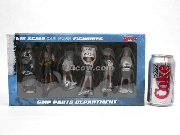 GMP Car Wash Figurines for 1:18 scale diecast car models - G1800124