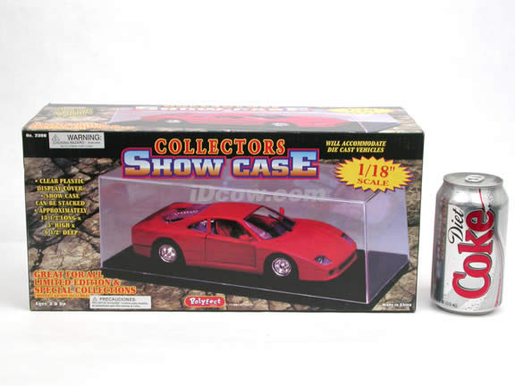 Plastic Display Show Case for 1:18 scale diecast car models - 2380