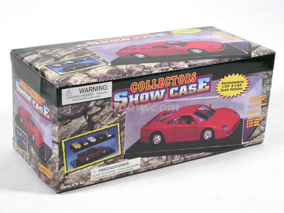 Plastic Display Show Case for 1:24 scale diecast car models - 90884