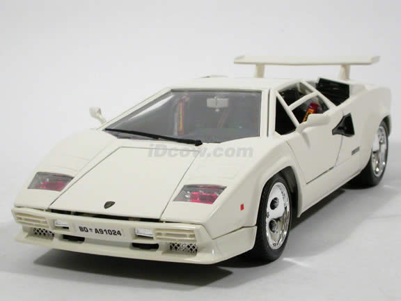 1985 Lamborghini Countach Diecast Model Car 1 18 Scale 5000