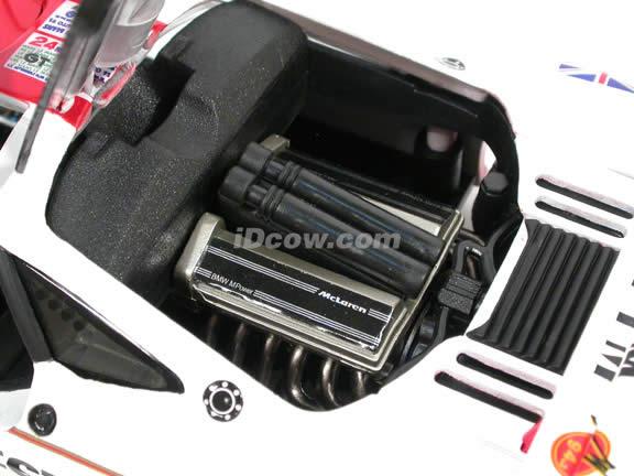 1995 McLaren F1 GTR diecast model car 1:18 scale West FM #49 by Guiloy - 67508