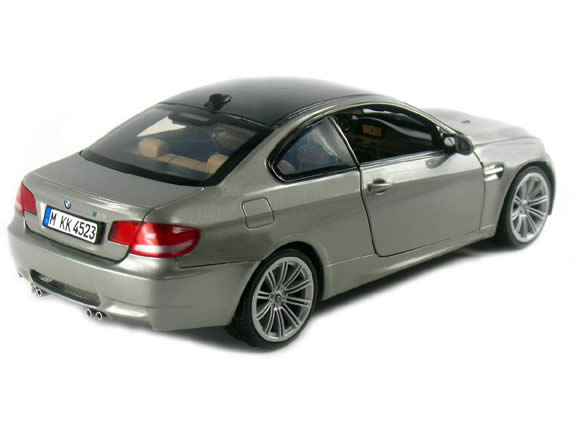 2009 BMW M3 diecast model car 1:18 die cast by Motor Max - Silver 73182