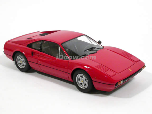 1976 Ferrari 308 GTB diecast model car 1:18 scale die cast by Kyosho - Red