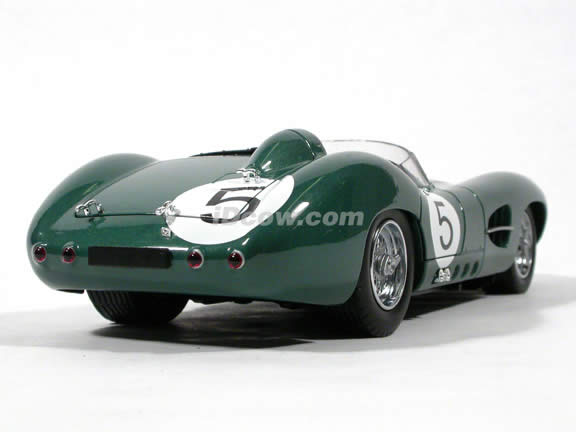 1959 Aston Martin DBR1 #5 diecast model car 1:18 scale die cast by Shelby Collectibles - #5