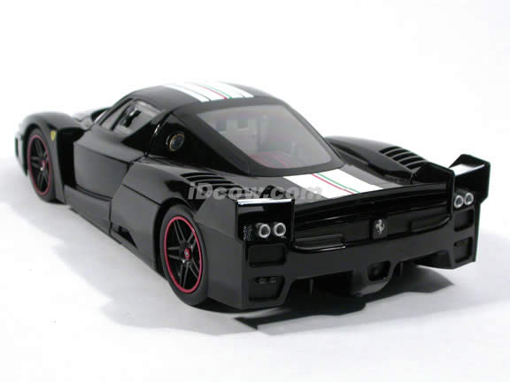 2006 Ferrari FXX Enzo diecast model car 1:18 scale die cast by Hot Wheels - Black