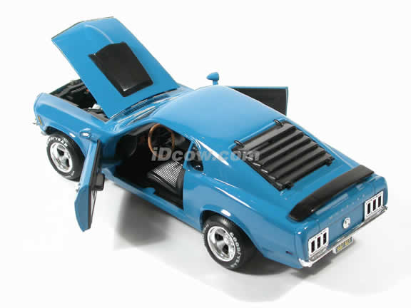 1970 Ford Boss Mustang 429 diecast model car
