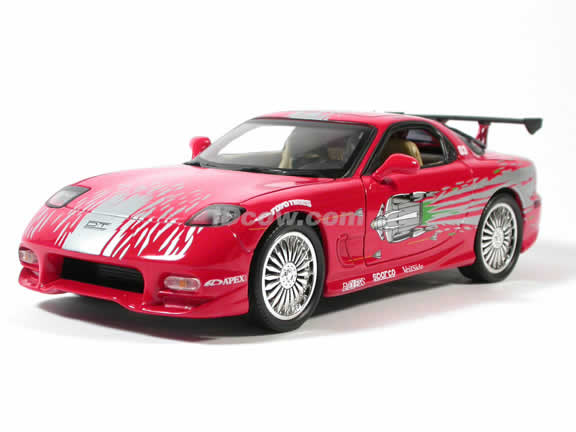 1993 Mazda RX7 diecast model car