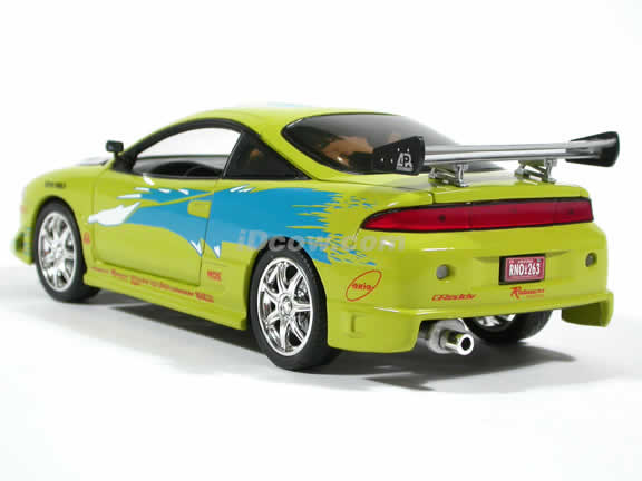 1995 Mitsubishi Eclipse diecast model car