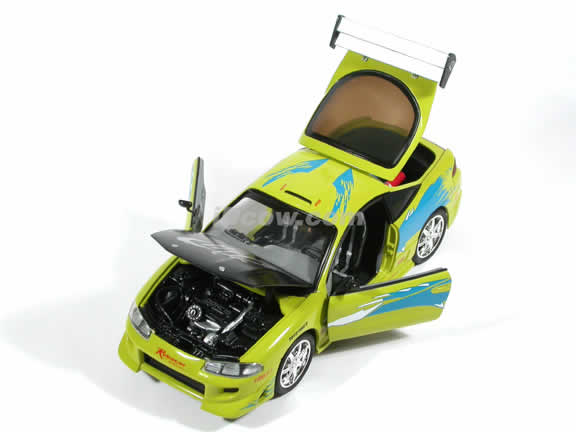 1995 Mitsubishi Eclipse diecast model car