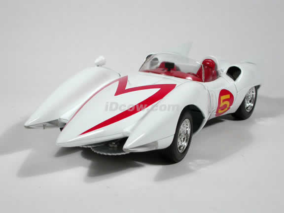 Speed Racer Mach 5 diecast model car 1:18 die cast by Ertl