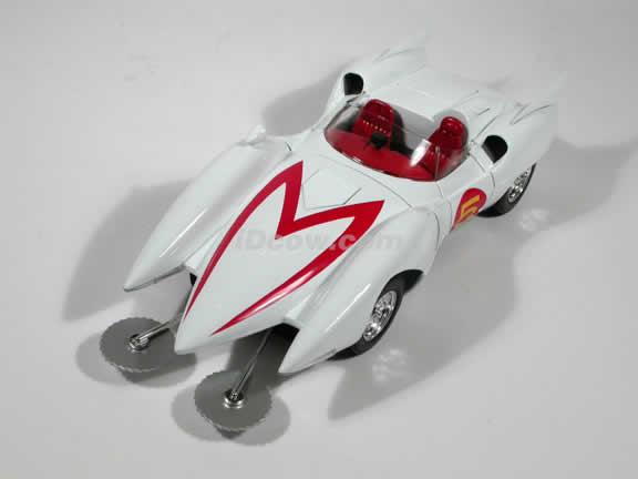 Speed Racer Mach 5 diecast model car 1:18 die cast by Ertl