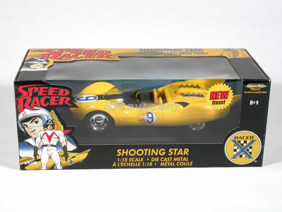 Speed Racer Shooting Star diecast model car 1:18 die cast by Ertl