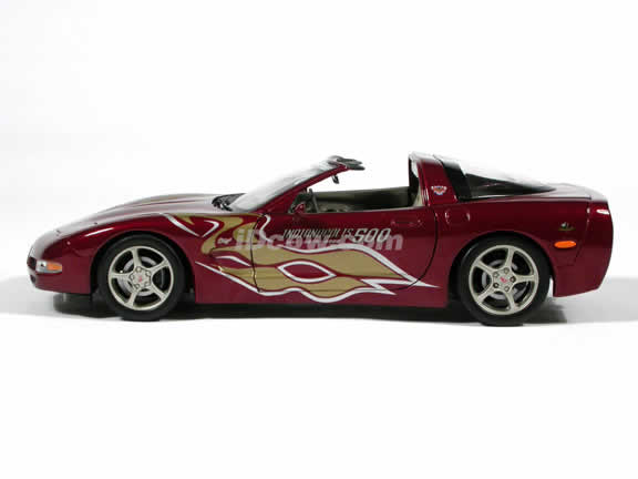 2003 Corvette model INDY 500 Pace Car die cast car 1:18 diecast by Ertl