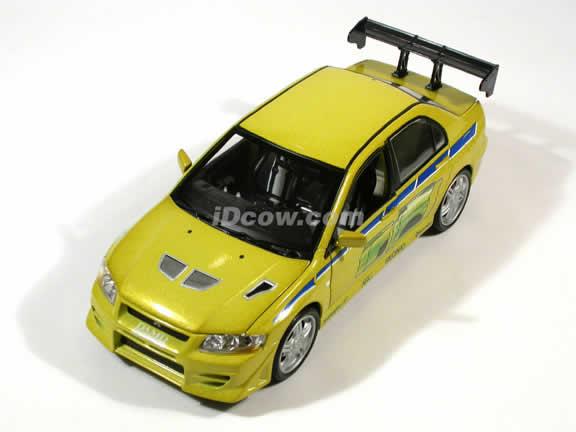 2002 Mitsubishi Lancer Evolution VII diecast model car