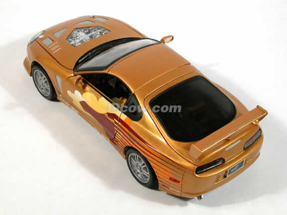 1993 Toyota Supra diecast model car