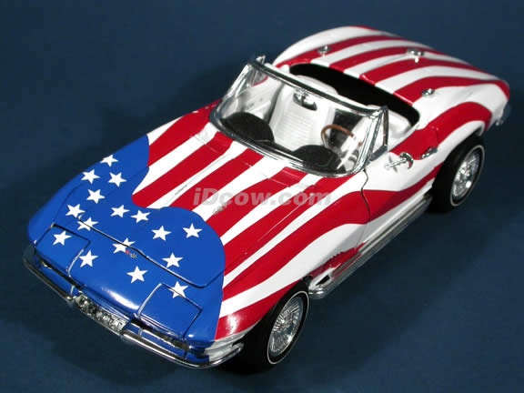 1965 Chevrolet Corvette diecast model car