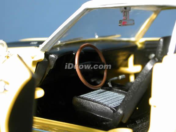 1969 Chevy Camaro Z-28 diecast model car 1:18 scale die cast by Ertl 1 of 2500  - Yellow