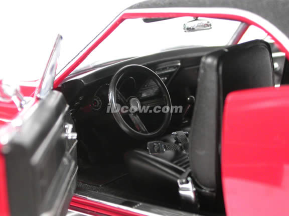 1967 Chevy Camaro Z-28 diecast model car 1:18 scale die cast by Ertl - Red