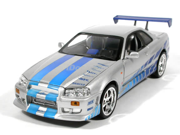 2001 nissan skyline diecast model car - Fast And Furious Cars Skyline