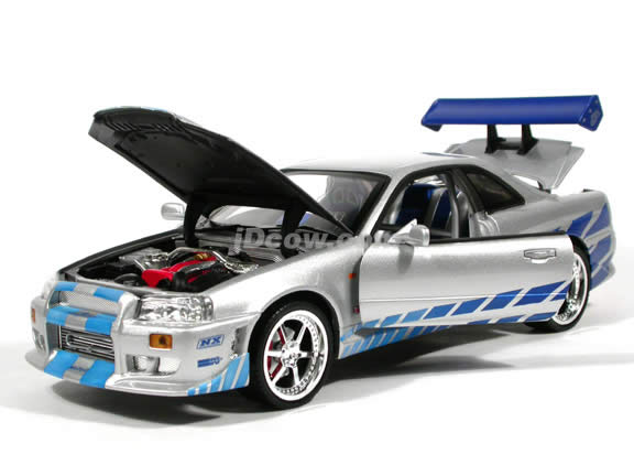 2001 Nissan Skyline diecast model car