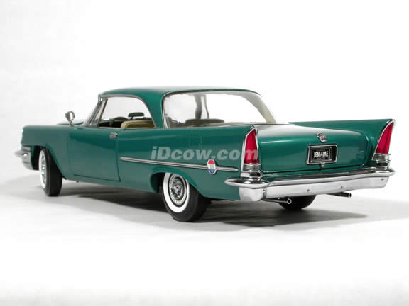 1957 Chrysler 300C diecast model car 1:18 scale die cast by Ertl - Green