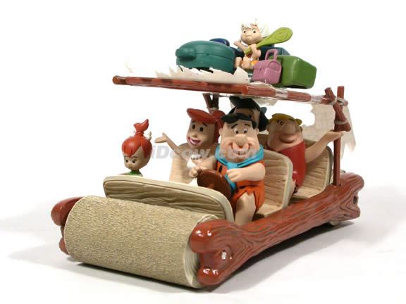 The Flintstones Flintmobile diecast model car 1:18 scale die cast by Ertl