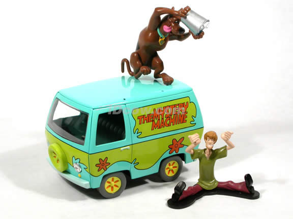 Scooby-Doo The Mystery Machine Van diecast model car 1:18 scale die cast by Ertl