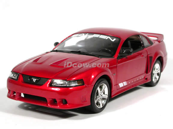 2003 Ford Saleen Mustang diecast model car