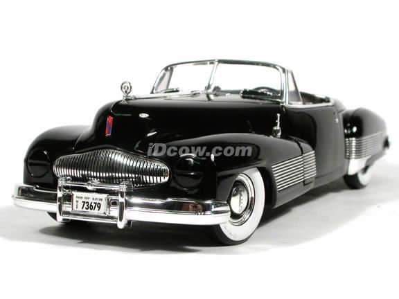 1938 Buick Y-Job diecast model car 1:18 scale die cast by Ertl - Black