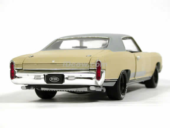 1970 Chevy Monte Carlo diecast model car 1:18 scale Fast and Furious 3 Tokyo Drift by Ertl - Grey Beige 53610A