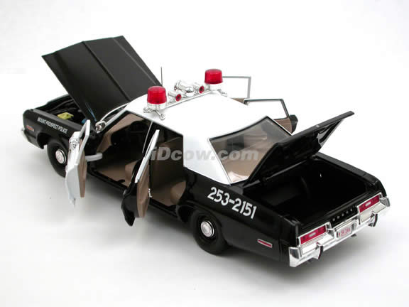 1974 Dodge Monaco Police Car diecast model car 1:18 scale die cast by Ertl - 39316