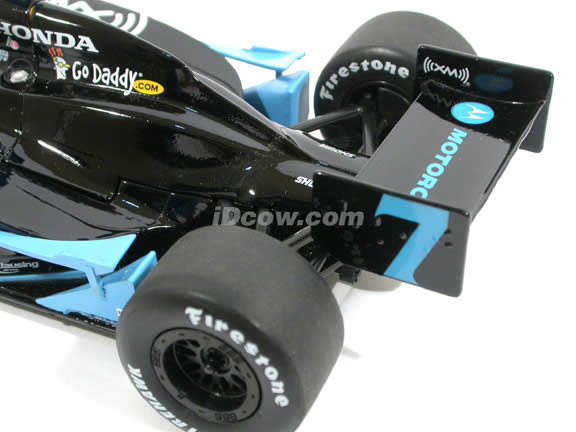 2008 Honda Danica Patrick IRL diecast model race car 1:18 scale die cast by GreenLight Collectibles - 10862