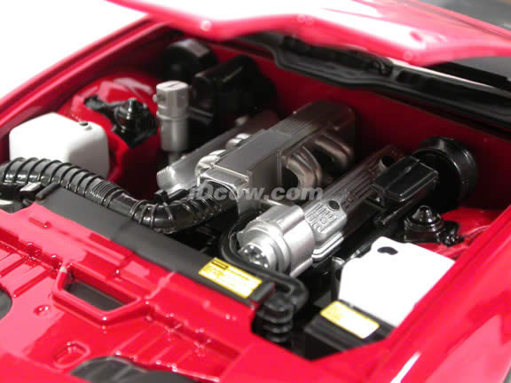 1989 Pontiac Trans Am diecast model car 1:18 scale die cast by GreenLight Collectibles - Red