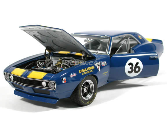1967 Chevrolet Camaro Z-28 #36 Mark Donahue/Team Penske diecast model car 1:18 scale die cast by GMP Limted Edition
