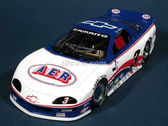 1995 Chevrolet Camaro #3 AER - Ron  Fellows diecast model car 1:18 scale die cast by GMP 1 of 1000