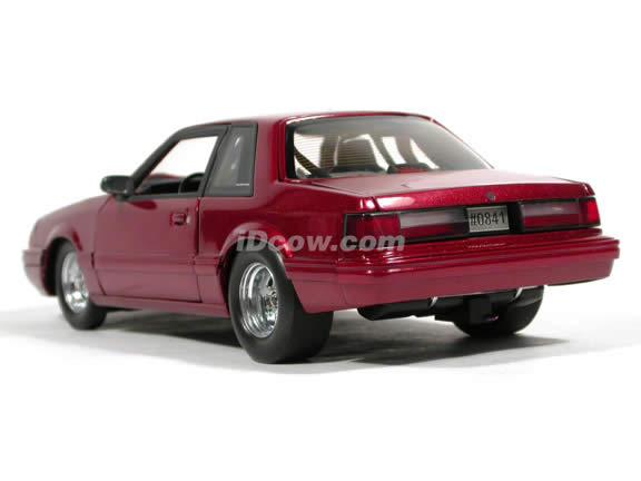 1989 Ford mustang die cast model