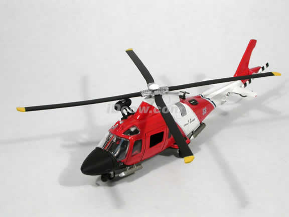 Agusta A109 Power Elite US Coast Guard Helicopter diecast model 1:43 scale die cast from NewRay