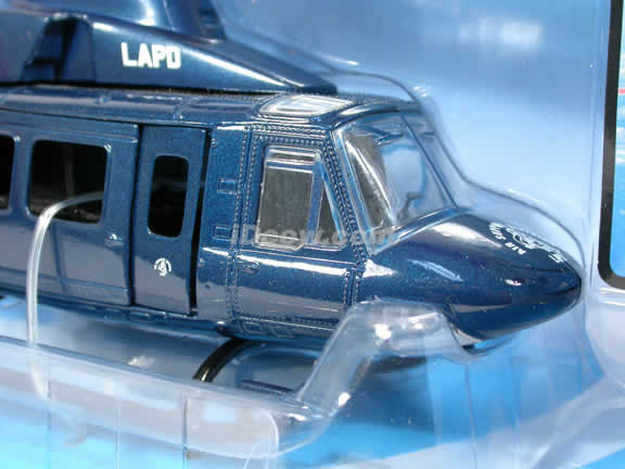 LAPD Bell 412 Helicopter diecast model 1:48 scale die cast from NewRay