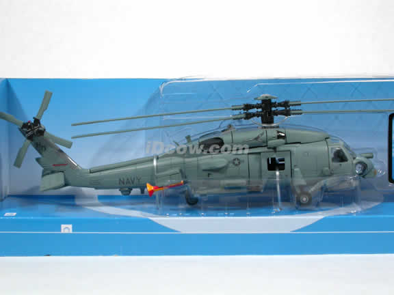Sea Hawk SH-60 Helicopter diecast model 1:60 scale die cast from NewRay