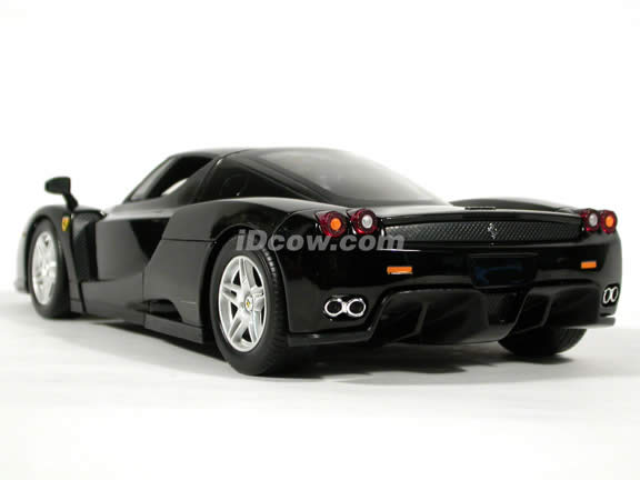 2002 Ferrari Enzo diecast model car 1:18 scale die cast by Hot Wheels - Black