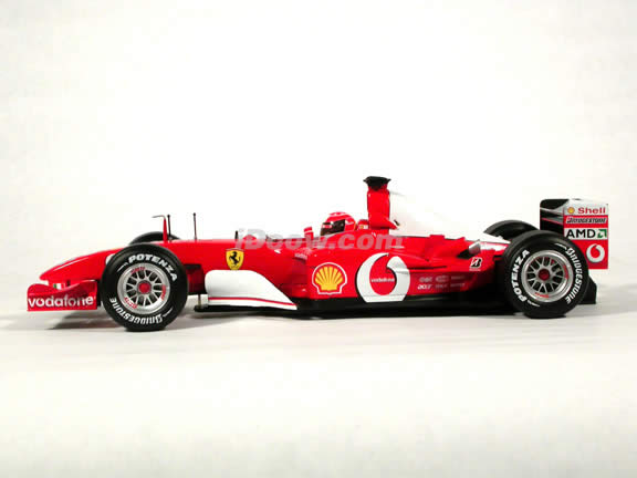 2003 Ferrari Formula One F1 - Michael Schumacher diecast model race car 1:18 scale die cast by Hot Wheels