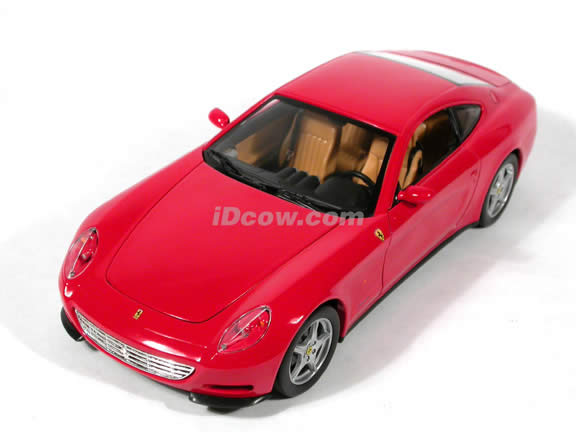 2004 Ferrari 612 Scaglietti diecast model car 1:18 scale die cast by Hot Wheels - Red